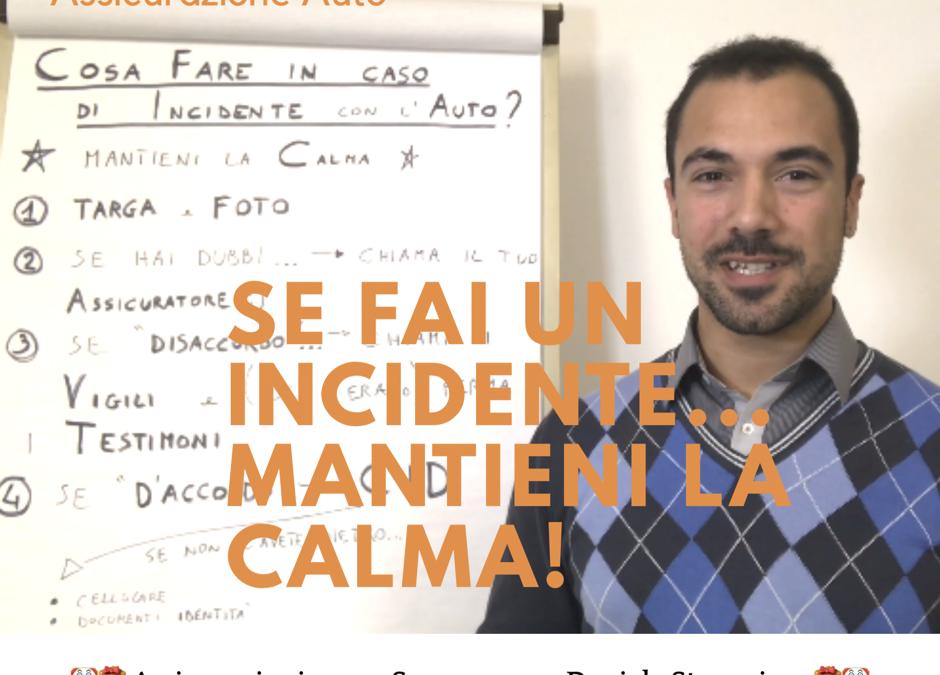 Assicurazione Auto: 3 Cose da fare in Caso di Incidente